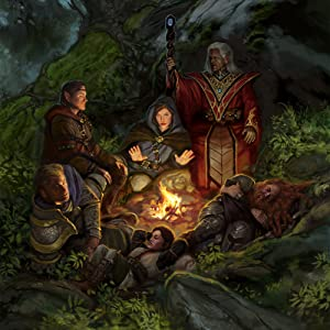 adventuring party camping