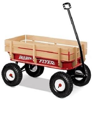 radio flyer steel wagon