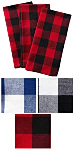 dish towels,plaid dish towels,tea towels,decorative dish towels,check dish towels