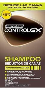 Just For Men Control GX Champú Reductor de Canas - Tinte ...