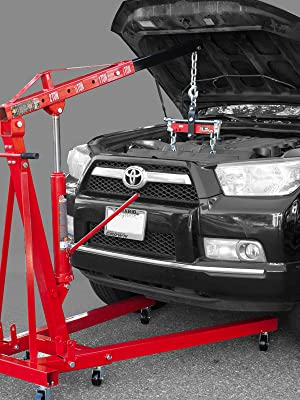 Torin BIG RED Engine Hoist Shop Crane Accessory: Steel 3 Position Engine Leveler, 3/4 Ton Capacity