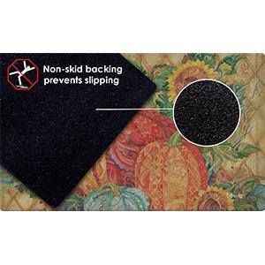Non-skid;non-slip;non skid;non slip;rubber;backing