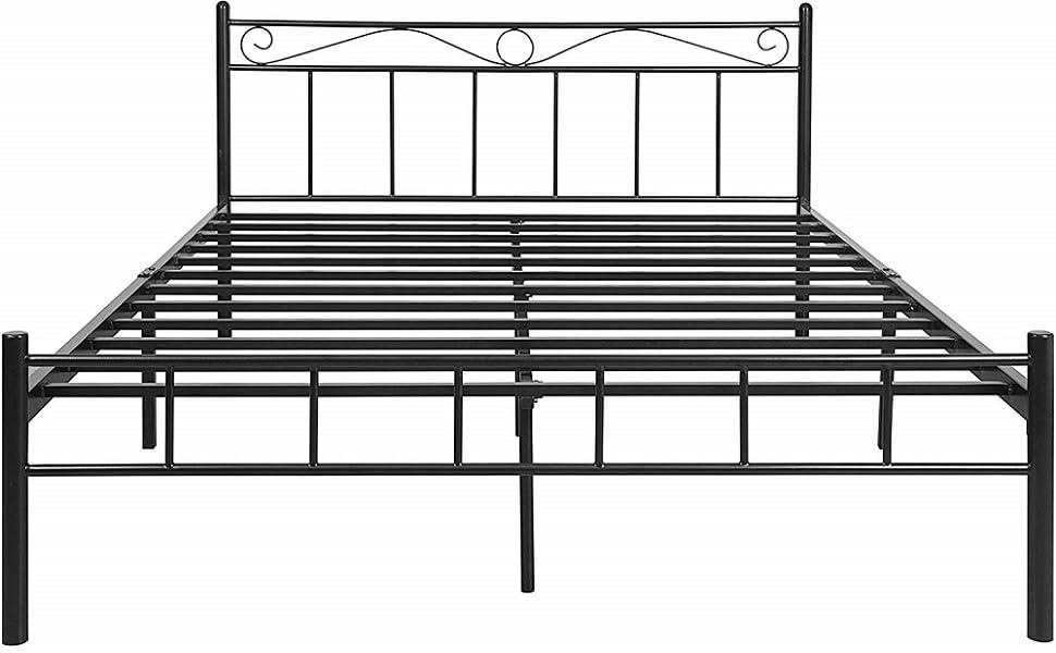 Landon King Size Metal Bed