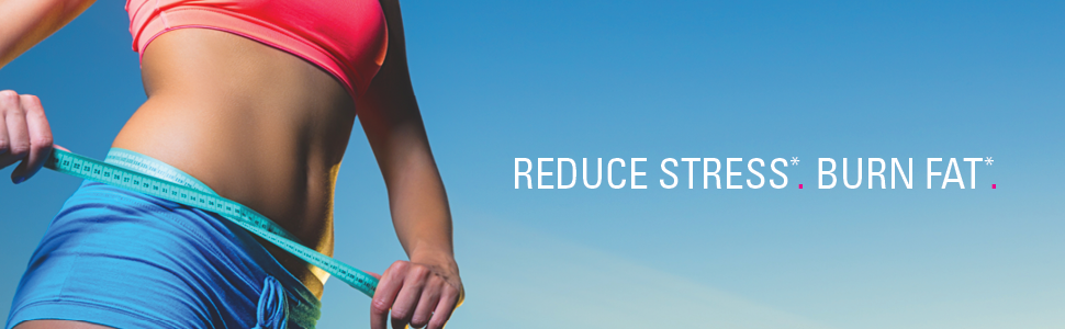 reduce stress burn fat