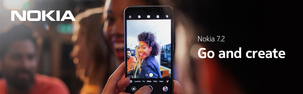 Go and Create. Nokia 7.2 with 48 MP camera featuring ZEISS Optics