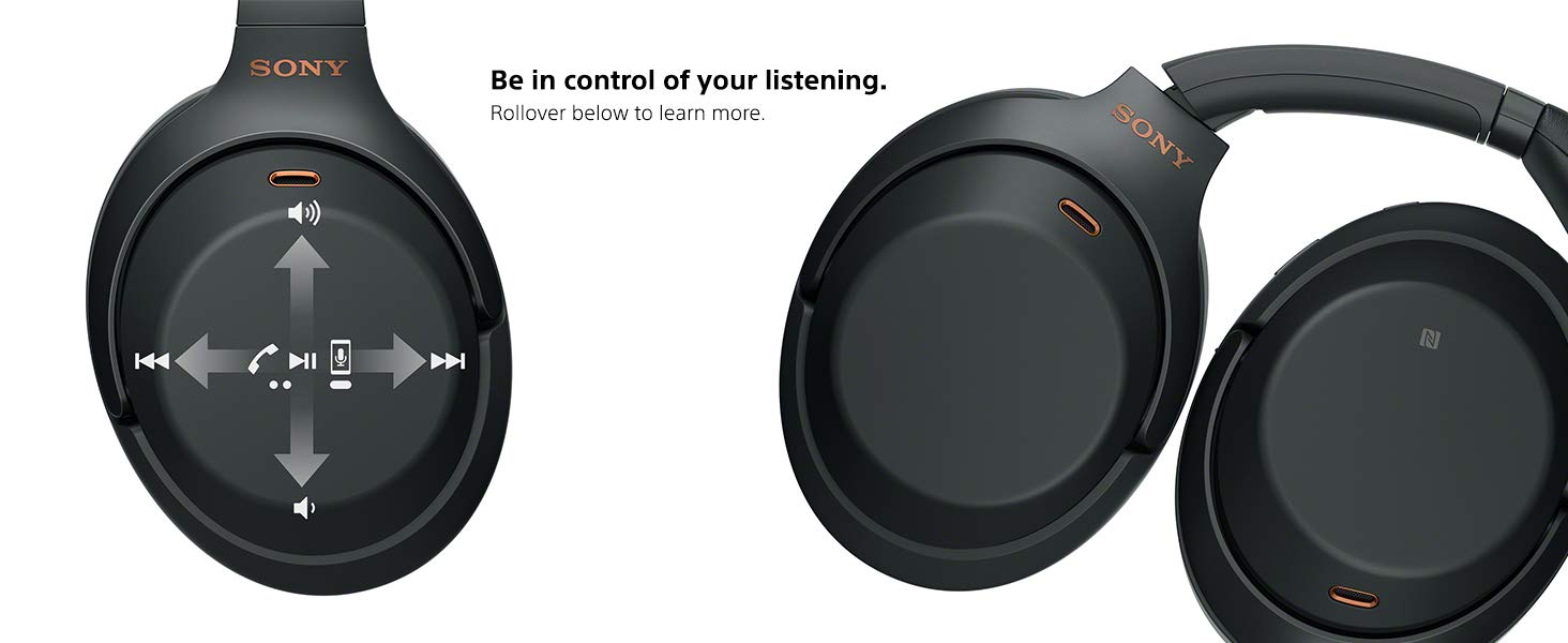 Be in control of your listening. Rollover below to learn more.
