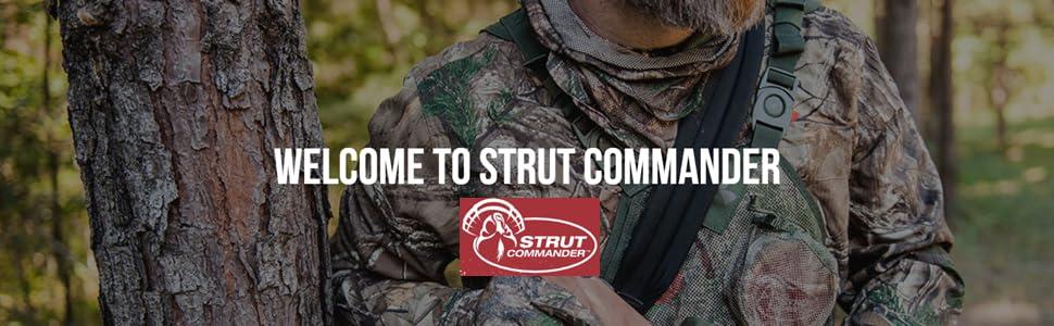 Strut Commander Turkey Banner Image