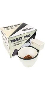 Fairly Odd Novelties Ceramic Toilet Coffee Mug