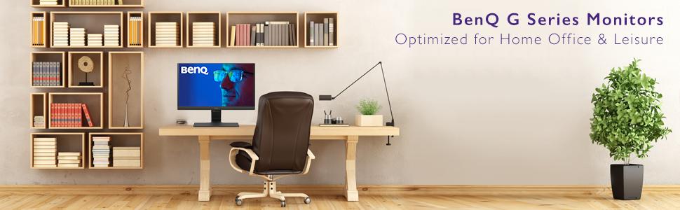 BenQ, BenQ monitor, home monitor, office monitor, eye care monitor, eyecare, 24 inch monitor