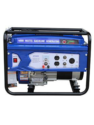 Green-Power America GPG4000W 4000W Pro Series Recoil Start Generator