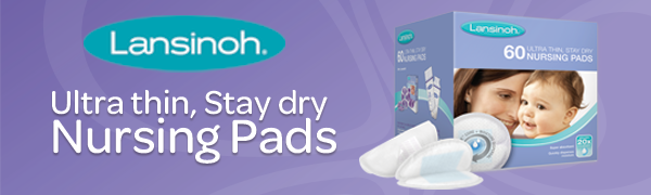 Lansinoh Ultra thin, stay dry Nursing Pads