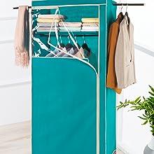 stockage de vêtements