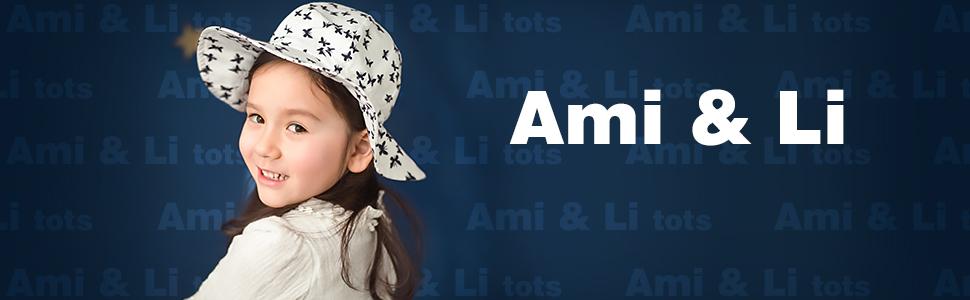Ami /& Li tots Ni/ño Sombrero de Sol Bob Ajustable para Beb/é Ni/ña Ni/ño Infantil Ni/ños Peque/ños Sombrero Protecci/ón Solar UPF 50 Unisexo