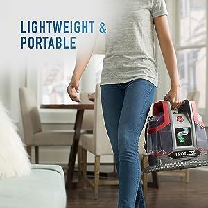 lightweight portable spot cleaner stain spill easy