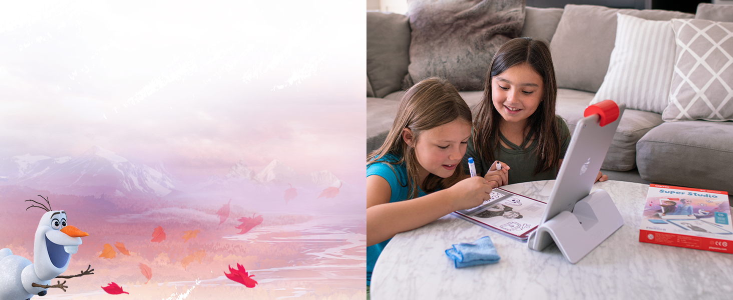 share the drawing you have made with family members. let your favorite characters come to life