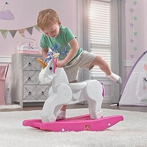 getting on the unicorn