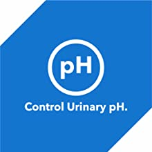 The blend of organic minerals along with the essential ingredients help to control urinary pH.