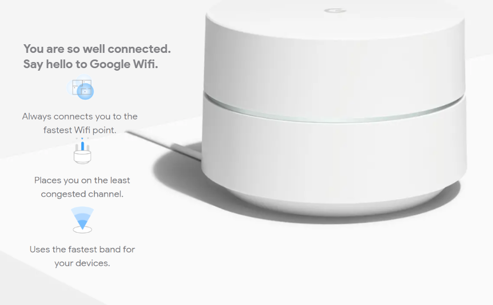 Google Wifi 2 with Wifi 6 support could