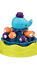 sprinkler, kids sprinkler, water toy, summer, fun, outdoor, play, animal, toddler, kids