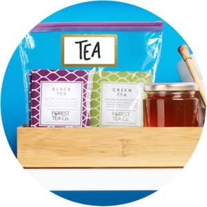 Ziploc-IT'S A TEA STATION