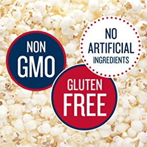 gluten free non gmo no artificial ingredients popcorn skinny pop