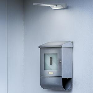 Osram Endura Style Square Luminaria LED de Exterior, 13 W, Gris Oscuro, 20.2 x 20.2 x 4.5 cm