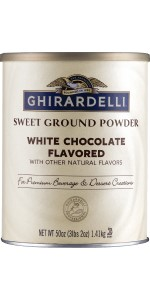 Ghirardelli White Chocolate Sweet Ground