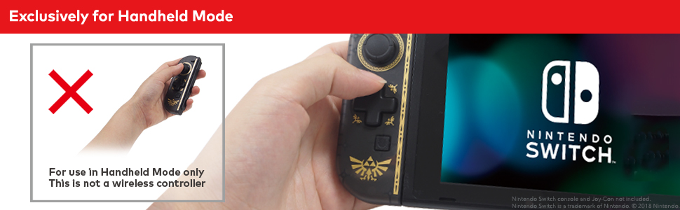 Exclusively for Handheld Mode