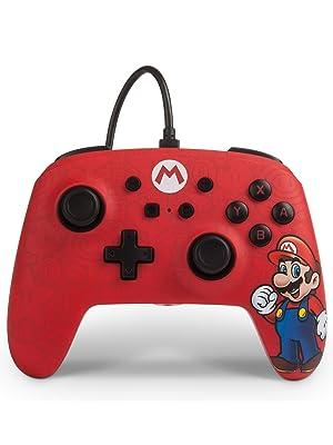 PowerA - Mando con cable Mario (Nintendo Switch): Amazon.es ...