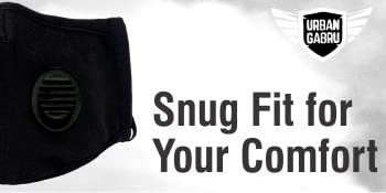 OUR ANTI-POLLUTION SECURE FIT WITH EASY BREATHE-ABILITY