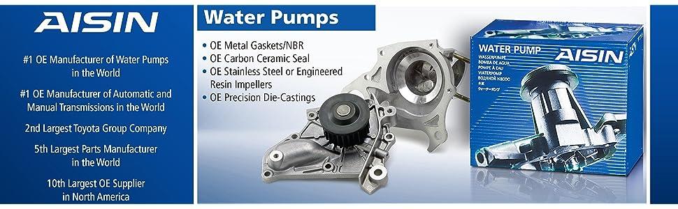 Engine Water Pump Aisin WPT-007