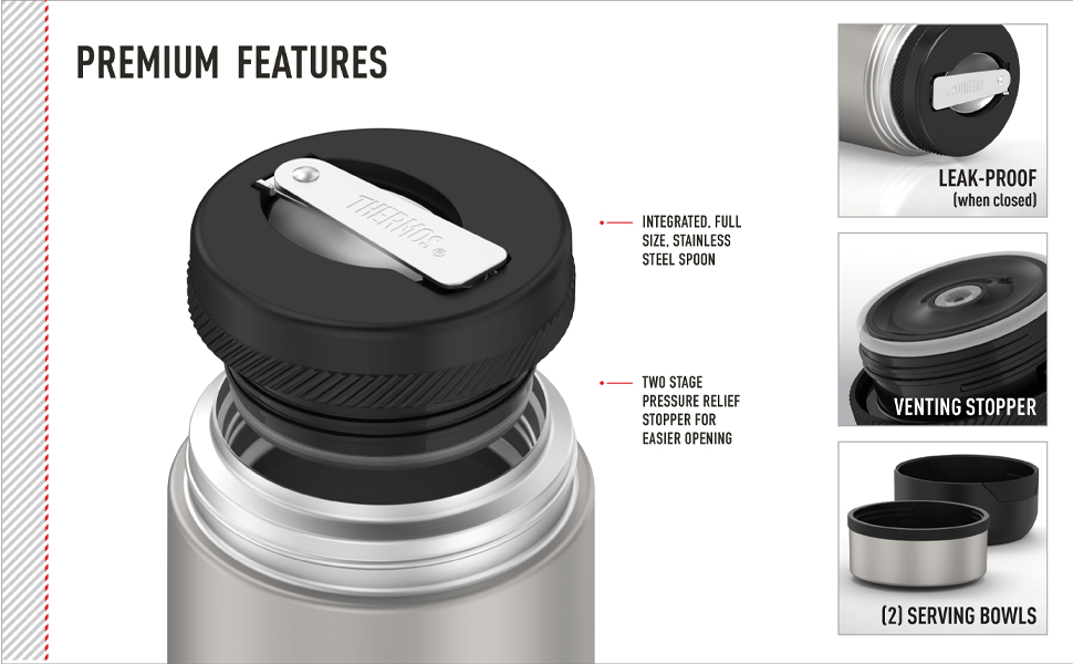 Thermos Food Storage Stainless Steel
