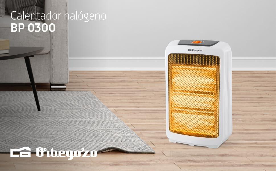 calentador halogeno, estufa halogena, estufa de cuarzo, estufas de cuarzo orbegozo, estufa cuarzo