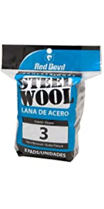 Red Devil Coarse Steel Wool 3 ...