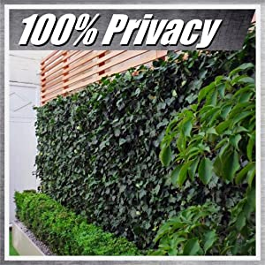 colourtree ivy fence privacy screen windscreen