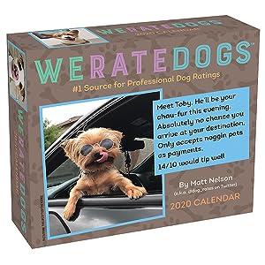 Best Dog Collars 2020 WeRateDogs 2020 Day to Day Calendar: Matt Nelson: 0050837425699