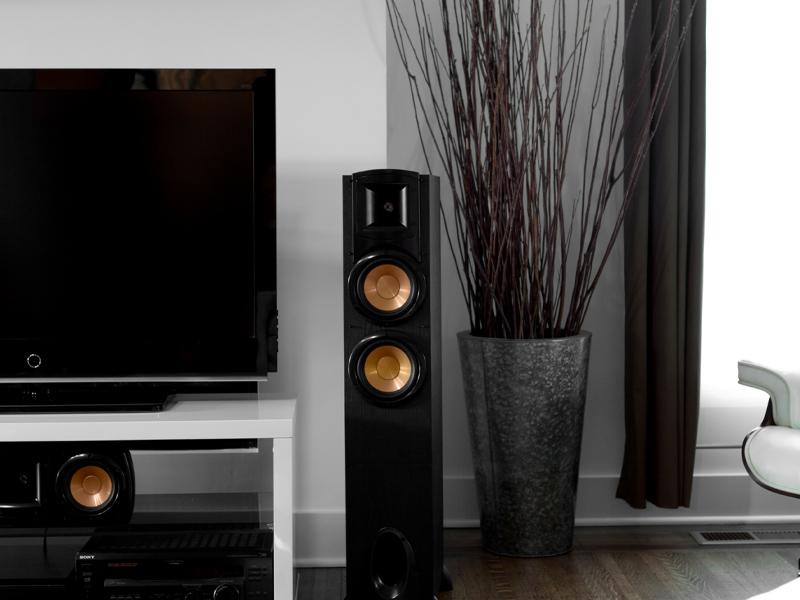 Synergy Black Label, Klipsch, speakers, subwoofers, center channel speakers