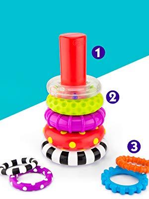 sassy stack of circles, sassy toys
