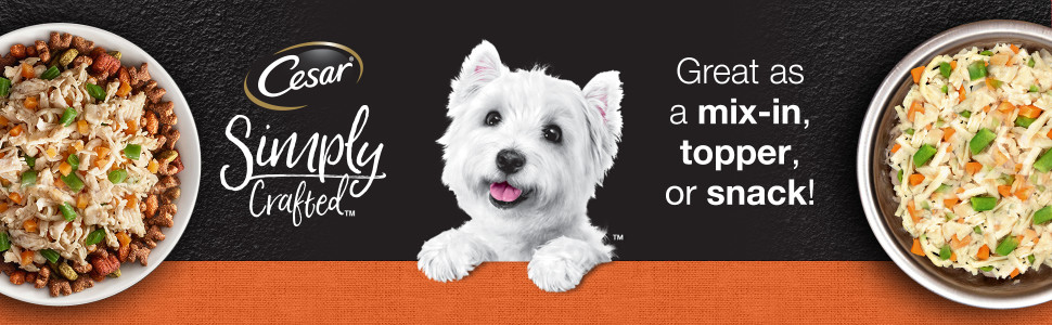 Great as A Mix In, Topper, or Snack, Dog Snacks, Snacks for Dogs, Meaty Food, Tasty
