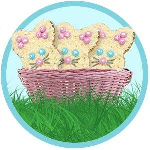 Bake fun desserts this Easter with M&M'S MINIS Size Candy in assorted pastel colors.