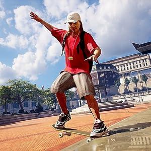 Image of Skater in Tony Hawk