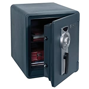 Waterproof and Fire-Resistant Bolt-Down Combination Safe