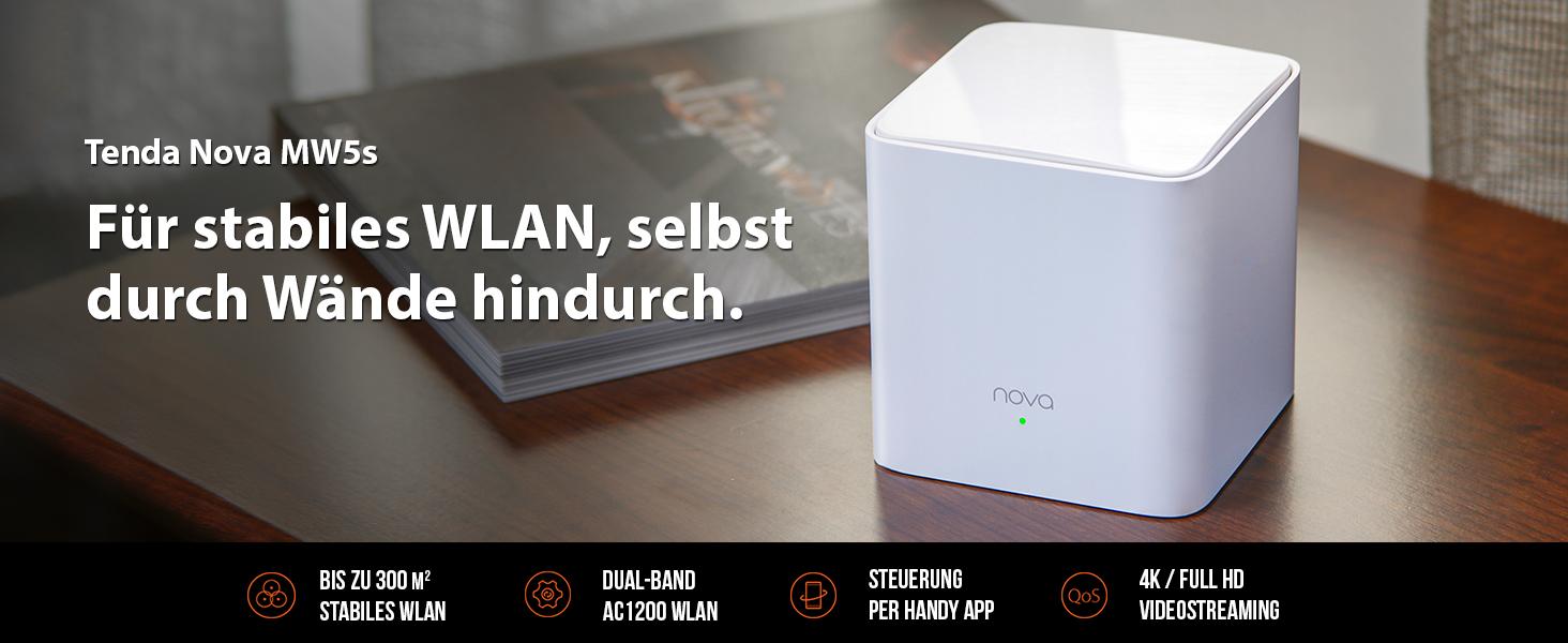 Tenda Nova Mw5s Echtes Dual Band Mesh Wlan Ersetzt Computer Zubehör