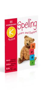 spelling kindergarten workbook