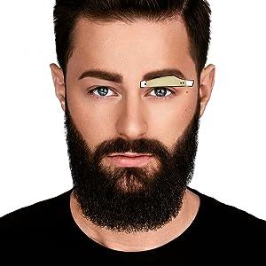 Männer augenbrauen Augenbrauen zupfen