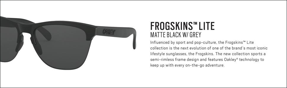Amazon.com: Oakley Frogskins Lite - Gafas de sol, color ...