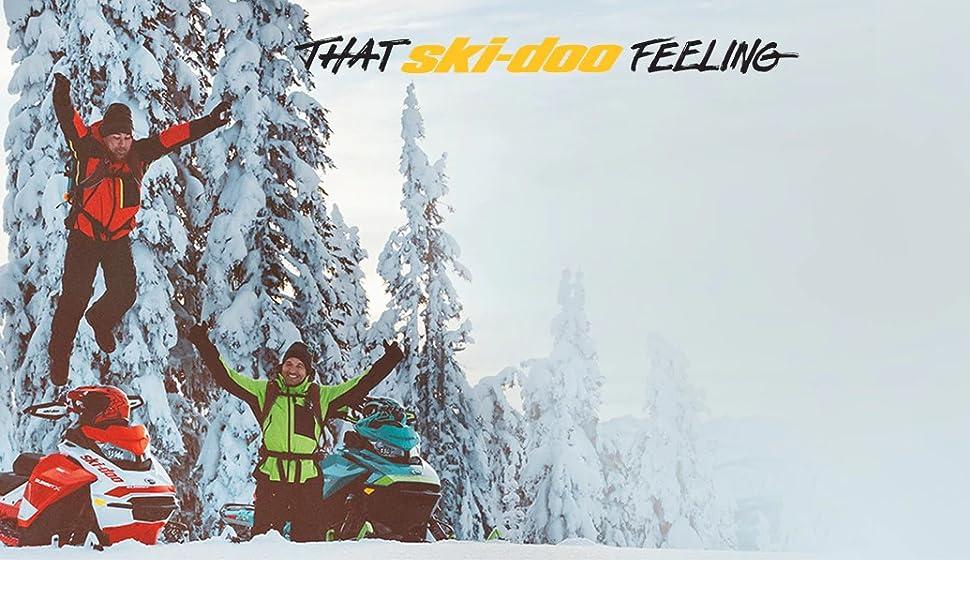 ski doo ski-doo that ski doo feeling logo brand merchandise