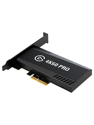 Elgato Game Capture 4K60 Pro - Captura y traspaso de señal a 4K 60FPS HDR Captura, PCI x4 (Interno), Tecnología Visualización Instantánea de latencia ...