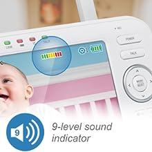 9 level sound indicator
