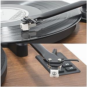 MB-PT-28, mbeat Hi-Fi Turntable with Bluetooth Speaker AT3600MMC